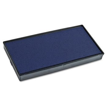 Consolidated Stamp 065472 2000 PLUS Replacement Ink Pad for Printer P40 & Dual Pad Printer P40, Blue Consolidated Stamp Plastic Stamp