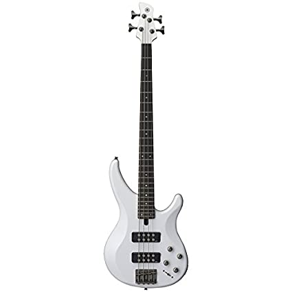 Amazon Com Yamaha Trbx304 White 4 String Electric Bass Guitar