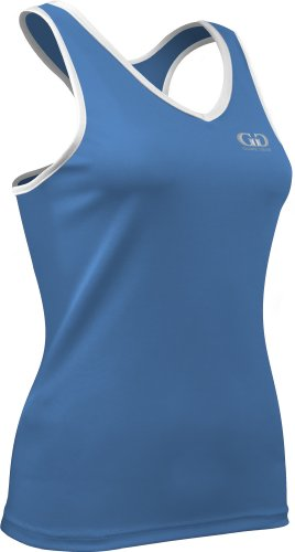 PT261 Women's Athletic Performance Loose Form Fit Racer Back Fitness Top