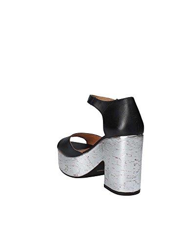 Sport Sandalo Nero Donna Janet 41860 Tacco qEAvwqSd