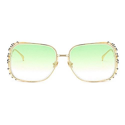 para de agraciado Gafas C7 cristalino Verano Protección Ultravioleta Sol Vacaciones Personalidad del de Conducción Mujeres la de Gu Color la de C7 Marco Playa Peggy Las para Las de Elegante zC0x7wq5n