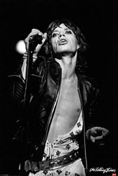 Mick Jagger Rolling Stones Rock Music Poster (24 x 36 inches)