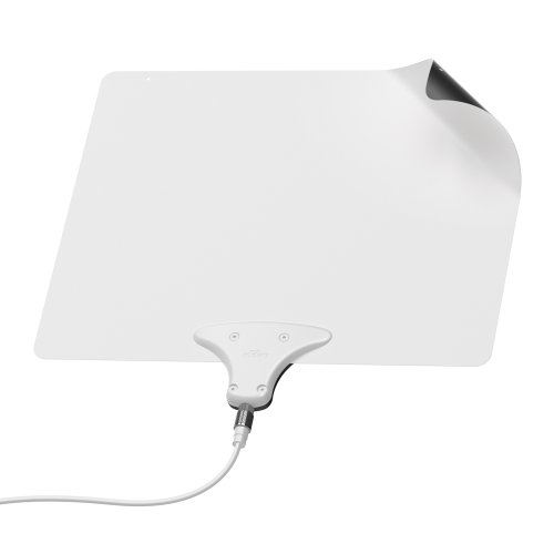 Mohu Leaf 30 TV Antenna, Indoor, 30 Mile Range, Original Paper-thin, Reversible, Paintable, 4K-Ready HDTV, 10 Foot Detachable Cable, Premium Materials for Performance, USA Made, MH-110598