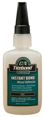 Instant Adhesive, 2 oz., Clear