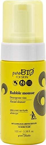 PuroBIO BUBBLE MOUSSE - Cleansing foam