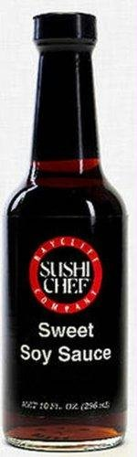 Sushi Chef Sweet Soy Sauce, 10 Fluid Ounce -- 6 per case. (Sushi Sushi Chef Soy)