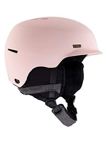 Anon Women's Raven Snow Helmet, Pink, Medium