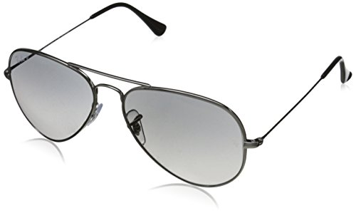Ray-Ban AVIATOR TM TITANIUM - TITANIUM Frame CRY.POLAR GREY GRADIENT Lenses 55mm - Ban Only Aviator Ray Frame