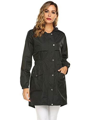 ladies hooded raincoat - 6