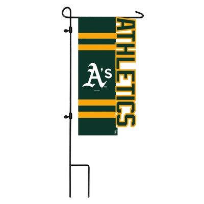 Oakland A's Sculpted Logo Garden Flag ()