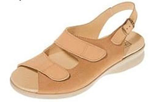 Wide Db EE Two Tone Tan Sandal Women Fitting Shoes 6wExwqTU