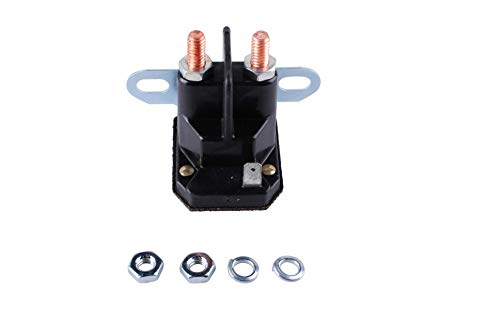 Podoy 812-1211-211 Solenoid for ATV Utility Vehicle Snowmobile Golf Cart Lawn Garden 812-1201-211 93265-19 93265-1WR 12V 3 Terminal