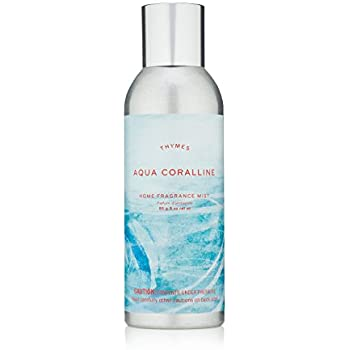 Thymes - Aqua Coralline Home Fragrance Mist - Relaxing Beach Scented Room Spray - 3 oz