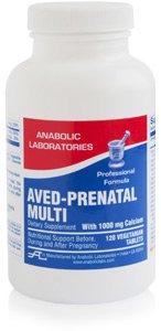Anabolic Laboratories AVED-PRENATAL MULTI TAB 120 Tablets
