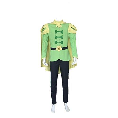 [Cuterole Men The Princess And The Frog Prince Naveen Cosplay Costume M] (Prince Frog Costumes)