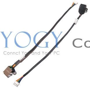 Gimax 10x New DC Jack with Cable Connector Socket fit for Dell Vostro 1014