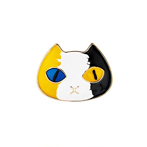 GoodLock(TM) Clearance Sale!!  Brooch for Women  Fashion Cat Silk Scarf Buckle Pin Dual-use Environmentally Friendly Alloy Jewelry Best Gifts (B)