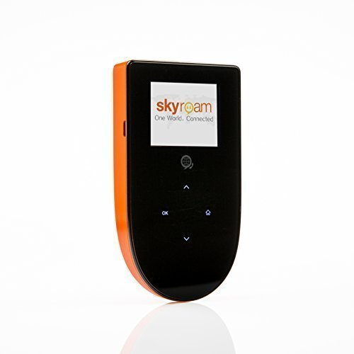 Skyroam Mobile Hotspot: Global WiFi // Unlimited Data // Connect 5 Devices // Pay-as-You-go // SIM-Free Coverage in Europe, North and South America, Asia, Africa, Australia (Renewed)