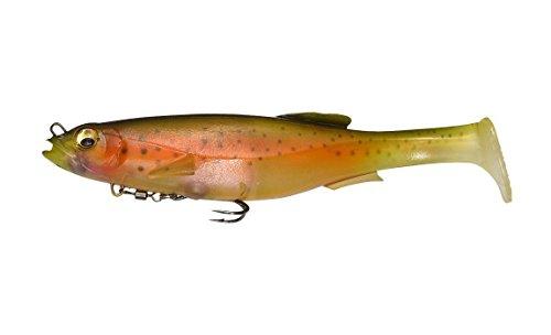 Megabass Magdraft 10 inch Swimbait - Nude Rainbow