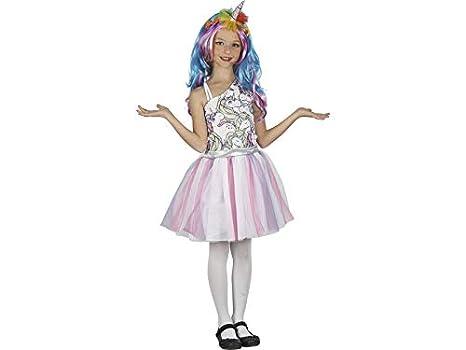 DISONIL Disfraz Unicornio Niña Talla XL: Amazon.es: Juguetes y juegos