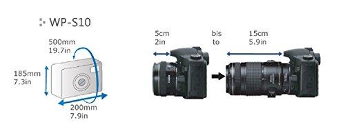 Dicapac WP-S10 DSLR Bolsa estanca cámara reflex 4