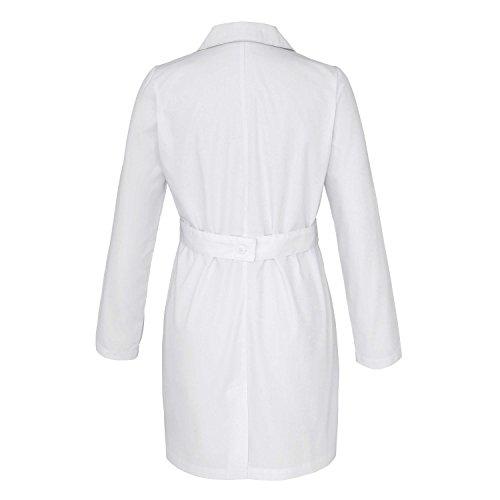 Adar Universal Women's 33'' Adjustable Belt Lab Coat - 2817 - White - L by ADAR UNIFORMS (Image #1)