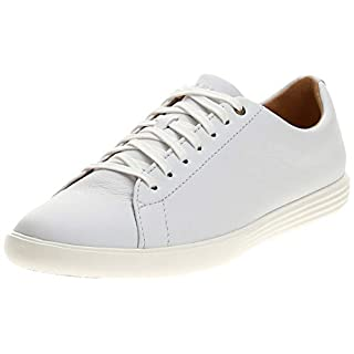 Cole Haan mens Grand Crosscourt Ii Sneaker, White Leather, 9.5 US