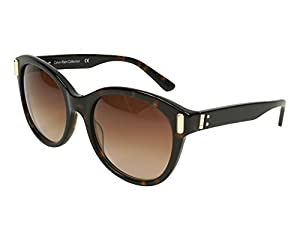 Calvin Klein sunglasses (CK-8512-S 214) Dark Havana - Light Gold - Brown Gradient lenses
