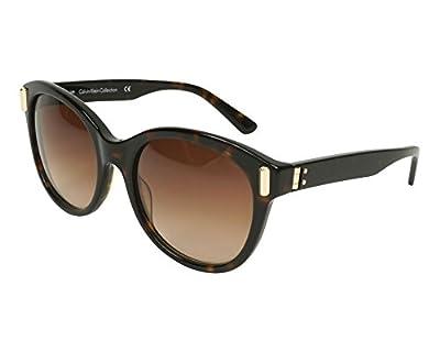 Calvin Klein sunglasses (CK-8512-S 214) Dark Havana - Light Gold - Brown Gradient lenses