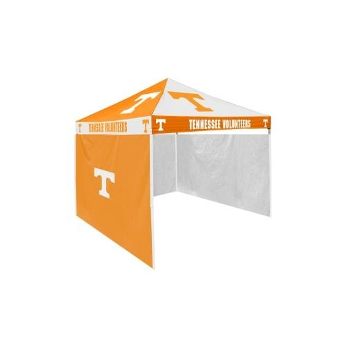 Logo Chair Tennessee Volunteers Ncaa 9' X 9' Checkerboard Color Pop-Up Tailgate Canopy Tent With Side Wall