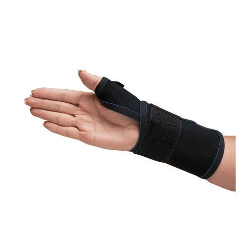 DeRoyal Thermo-Form Thumb Splint, Right, Large, 8