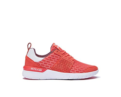 White Supra Size Coral Scissor Shoes Womens Ptqwg1
