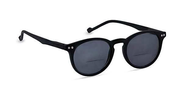 2ec554d640 Amazon.com  Peepers First Light Bifocal Sunglasses Glasses Black ...