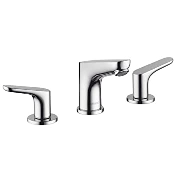 Hansgrohe 04369000 Focus 100 Widespread Faucet Chrome Bathroom