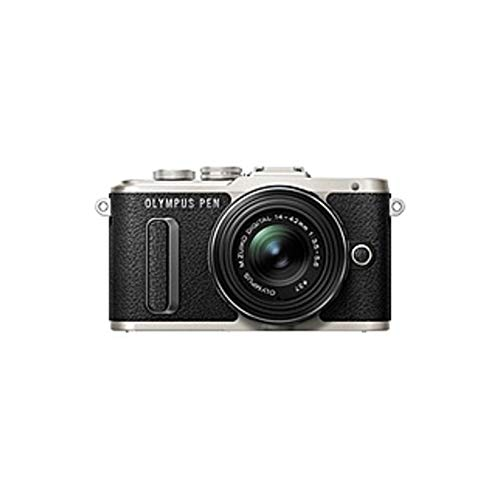 (Olympus Pen E-PL8 16.1 Megapixel Mirrorless Camera with Lens - 14 mm - 42 mm - Black - 3in Touchscreen LCD - 3X Optical Zoom - Optical (is) - 4608)