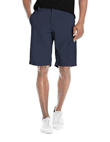 Mens Super Comfy Flex Waist Cargo Shorts ASH45179 Cobalt BLU 34