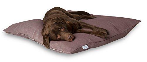 Darling Little Place cama para perros, 110 x 110 cm, Ruby Solid: Amazon.es: Productos para mascotas