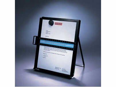 KENSINGTON TECHNOLOGY COPY HOLDER METAL LETTER SIZED /1.5