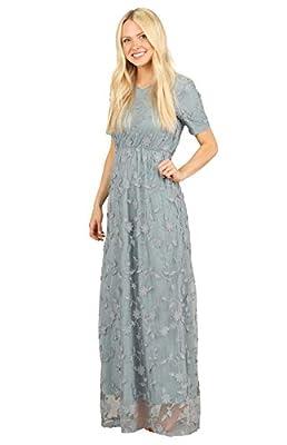 Mikarose Kinsley Modest Maxi Dress or Modest Bridesmaid Dress