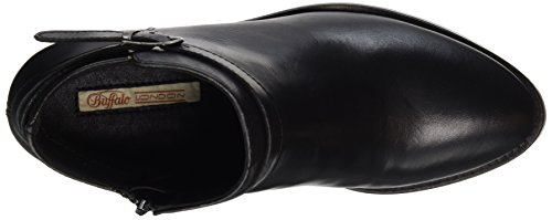 Buffalo Damen ES 30925 Sauvage Stiefel Schwarz (PRETO 01)