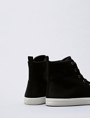 FIND a Collo Donna Black Nero Alto Sneaker RRanqxrZ