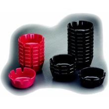 tic Ashtray -- 12 per case (Black Plastic Ashtray)