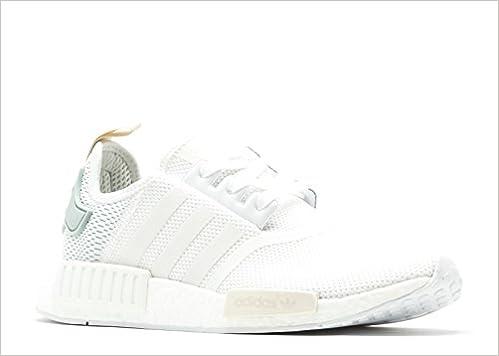 a221021467a4c Amazon.com  adidas Women s Originals NMD R1 Footwear White (10 B(M ...