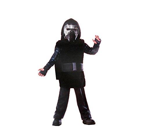 Star Wars-Kylo Ren Costume, Multicolor, M (Rubie's 620881-m)]()