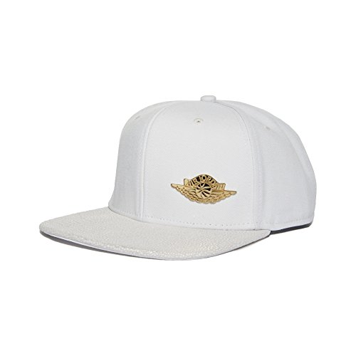 6708f559db7 store jordan ovo hat back 5594a eeeef  sweden nike air jordan 1 pinnacle  white gold strapback adjustable hat 789684 100 buy online in