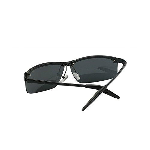 Gafas de de polarizadas Hombres 1 Gafas los Sol Hombres Sol Espejo los 2 DT de Conducción Color de de YAw5zPq