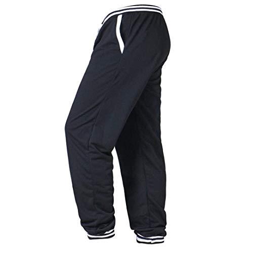 La Amayay Pants Workout Pantalons Sport Style Pockets Simple De Élastique Mode Fitness Survêtement Casual With Noir Hommes Pour Men À Baggy HqqFAI