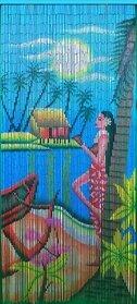 Bamboo 70 5298 Ipanema Girl Curtain (Tropical Beaded Curtains)