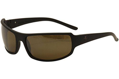 Fatheadz Eyewear Men's Superhero V2.0 Polarized Wrap Sunglasses, Black, 40 - Sunglasses V