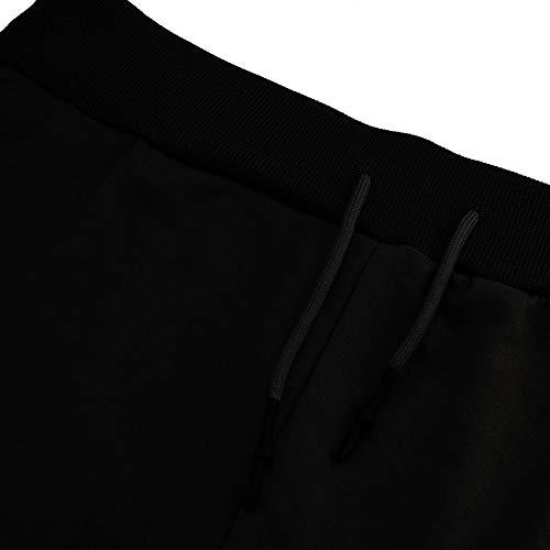 Paolian Pantalone uomo Tasca Tuta Colore Lavoro Pocket Uomo Nero Pantaloni Puro Casual Sport SUGLzjMVqp